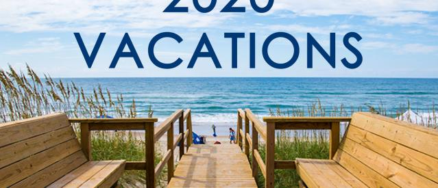 2020 Hatteras vacation reservations